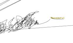 i drew an infinte line