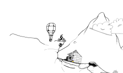 Mountain Balloons Collab