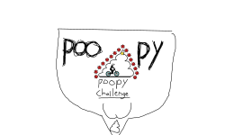poopy challenge