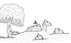 Rock gardens trial