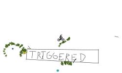 Around the triggered