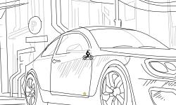 My First Car Draw