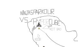 NinjasParkour VS HyperCube
