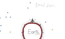Auto Rotating Around Earth