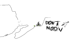 dont moov in the cave