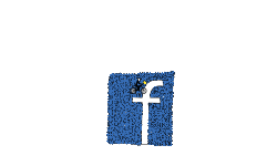 Facebook logo art