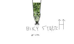 Bike Stretch Glitch