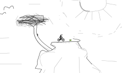 Artsy glitch map