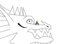 Dragon head 🐲