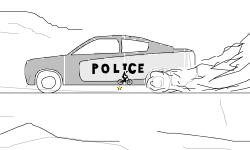 Police Car - Zoom Out (Desc.)