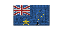 Aussie flag (Desc)