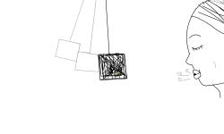 swinging cage