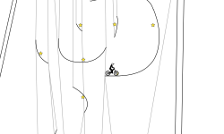 hanging track
