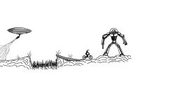 robot alien