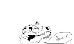 T-rex Skull (Desc)