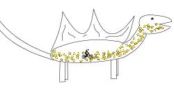 100 star stegosauraus