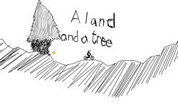 A land and a tree
