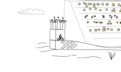 BMX Flatout Longjump