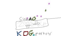 A logo for KDG_parkour
