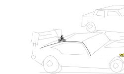 street race drawing