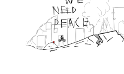We need peace
