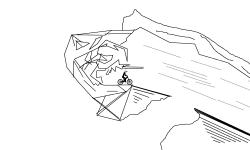 dark line island