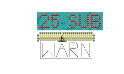 25 Sub Warning