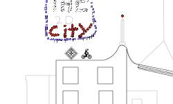 The 2D city