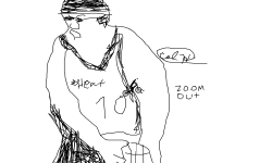Lebron james (zoom out)