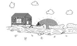 House on the stream