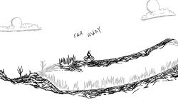 far away (continue ?)