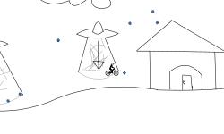 sci-fi snow globe