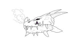 Dragon Drawing #3