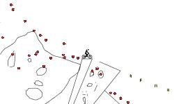 falling bombs