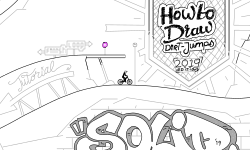 SLD How to draw dirt jumps